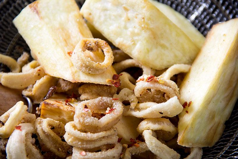 Crispy Squid with Pepper