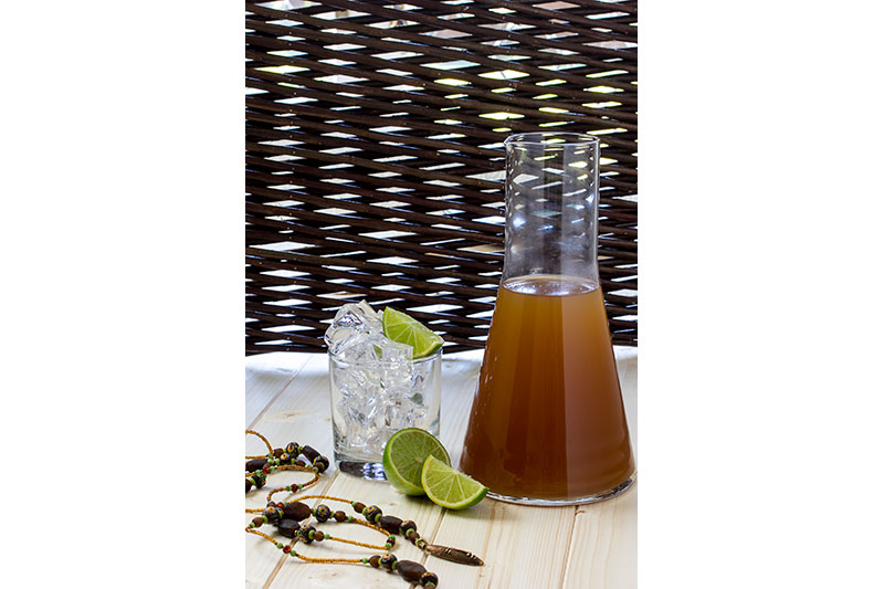 Ginger and Lime Drink