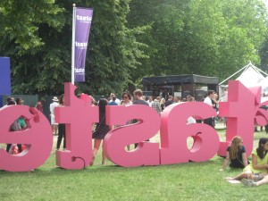 Tastes of London - Regents Park