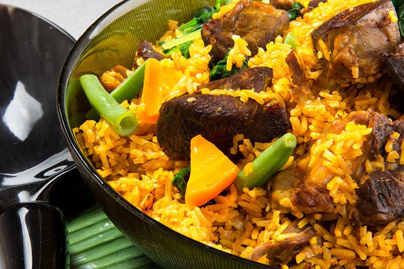 Lamb Jollof Rice