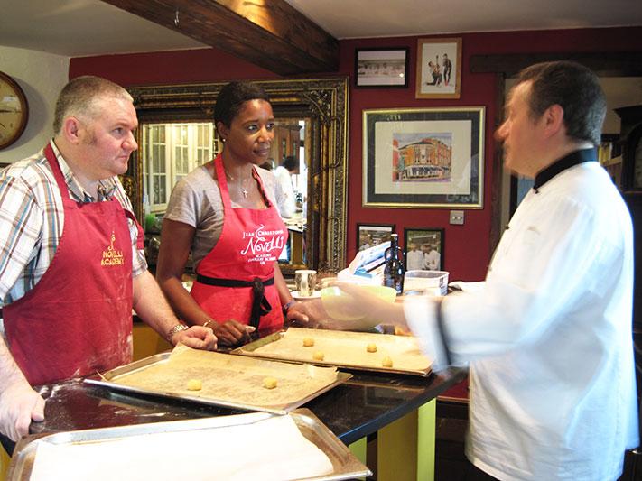 Resident Chef Felice imparts wisdom