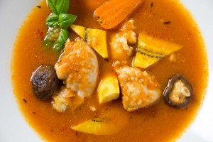 Chicken and Vegetable Light Soup