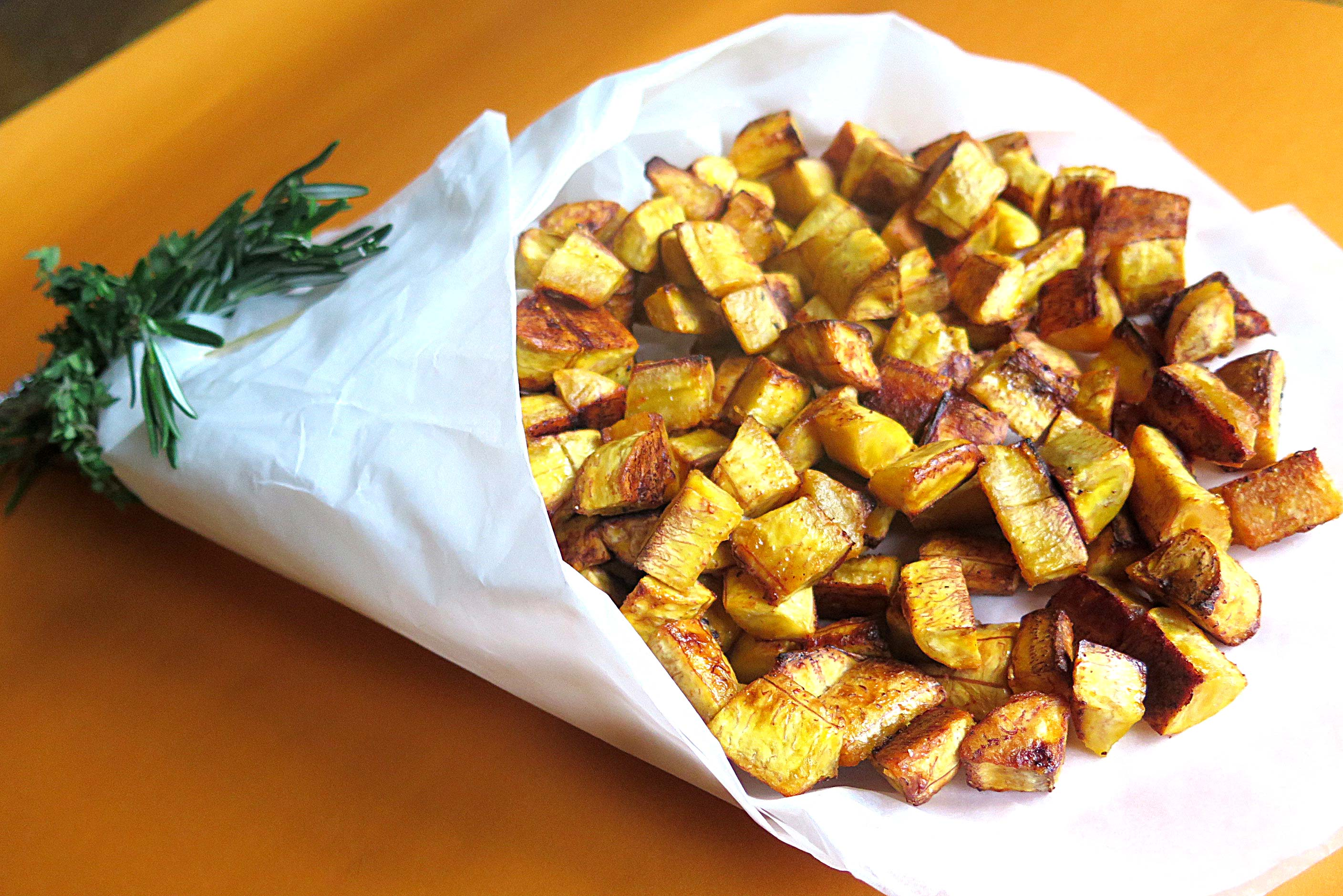 Kelewele bouquet ripe plantain spiced and baked