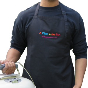 A Plate in the Sun Apron