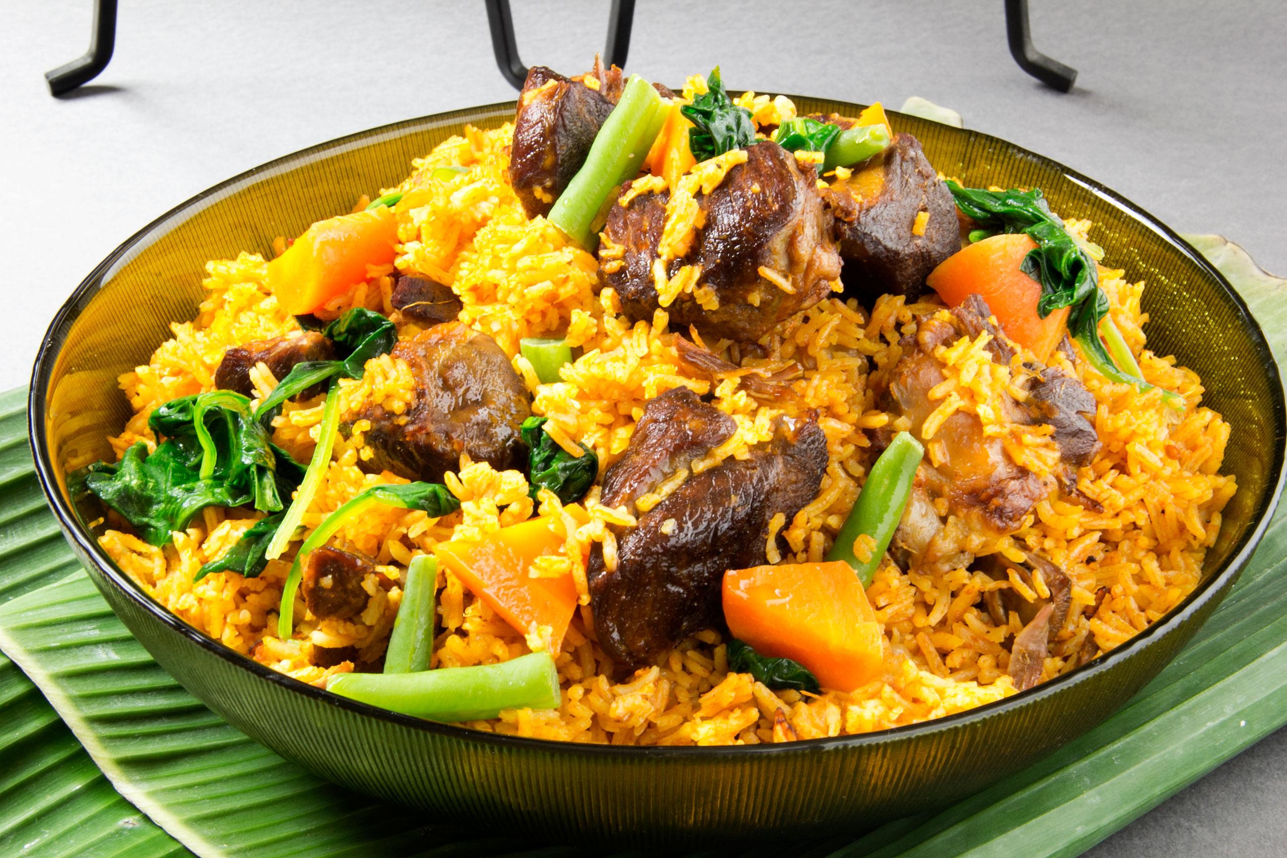 Jollof Rice Patti Style