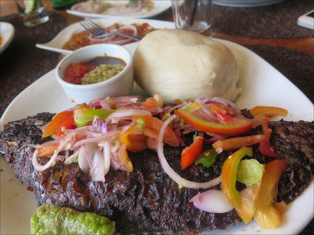 Tilapia and Banku