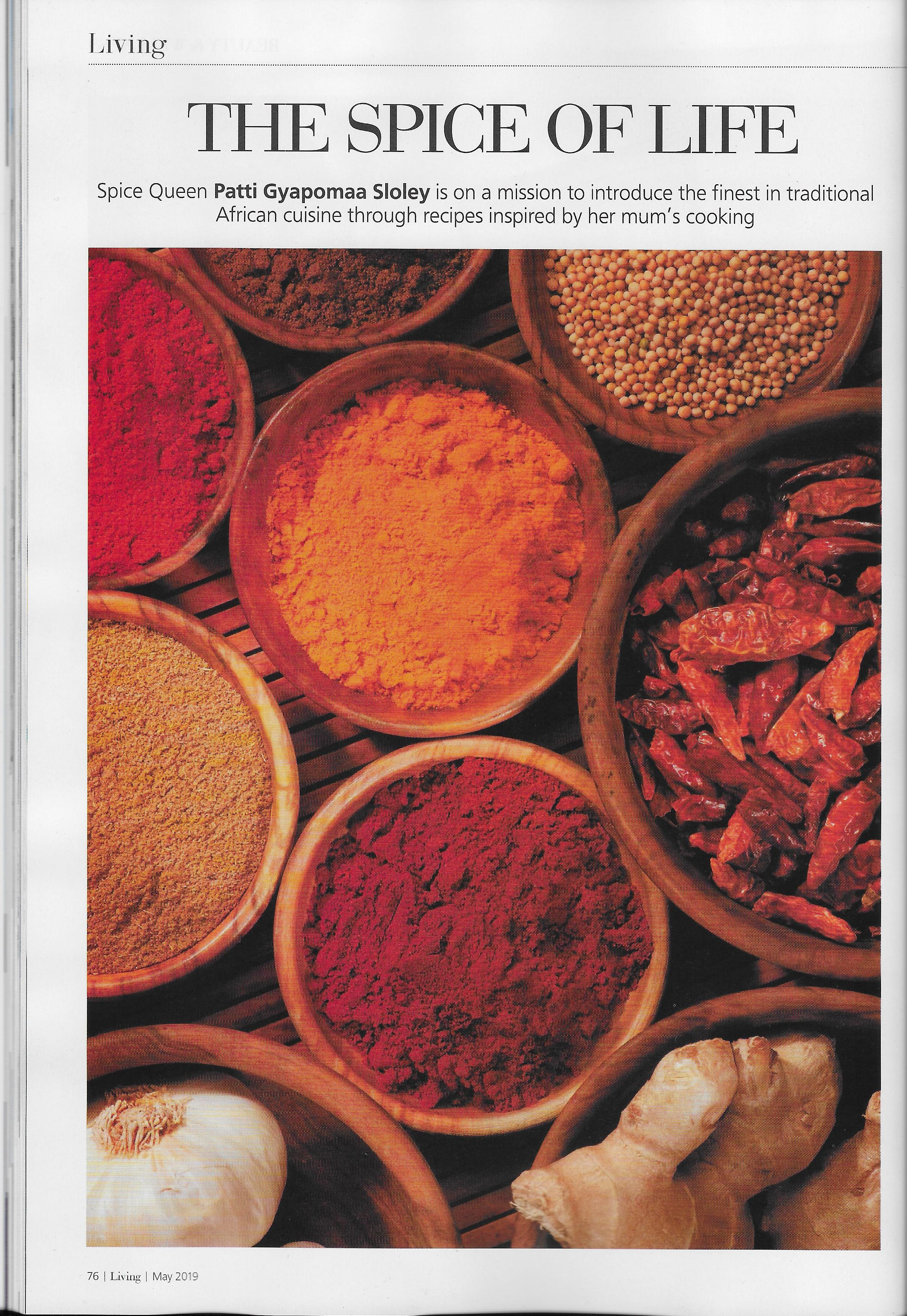 A Delicious Fusion Of African And Western Recipes And Tastes